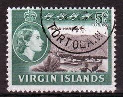 British Virgin Islands 1964 Queen Elizabeth Single 5 Cent Stamp From The Definitive Set. - British Virgin Islands