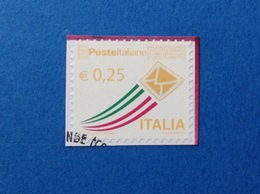2013 ITALIA FRANCOBOLLO USATO STAMP USED BUSTA CHE SPICCA IL VOLO 0,25 - 2011-...: Usati