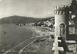 Alassio (Savona) Panorama Da Levante, General View From The East, Vue Generale Prise De L'Est - Savona