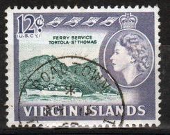 British Virgin Islands 1964 Queen Elizabeth Single 12 Cent Stamp From The Definitive Set. - British Virgin Islands