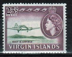 British Virgin Islands 1964 Queen Elizabeth Single 25 Cent Stamp From The Definitive Set. - British Virgin Islands