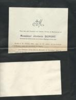 Furigny   -  F.P. Décès De M  Jérémie Dupont Le 30/10/1911  - Mald 6603 - Obituary Notices