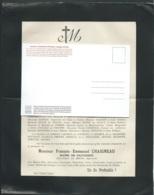 Les Granges ( 87 )  F.P. Décès De M François-Emmanuel Chaigneau Maire De Gajoubert Le 3/04/1899  - Mald 6608 - Obituary Notices