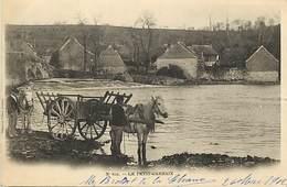 - Finistère - Ref-E257-  Carhaix - Le Petit Carhaix - Attelage Cheval - Chevaux - Carte Bon Etat - - Carhaix-Plouguer