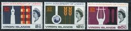 British Virgin Islands 1966 Queen Elizabeth Set Of Stamps Celebrating 20th Anniversary Of UNESCO. - British Virgin Islands