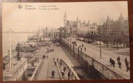 Anvers Le Steen Et Le Port - Antwerpen