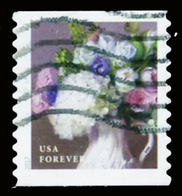Etats-Unis / United States (Scott No.5236 - Flower From The Garden) (o) Coil - Used Stamps