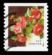 Etats-Unis / United States (Scott No.5233 - Flower From The Garden) (o) Coil - Used Stamps