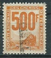 Timbre Colis Postaux 1944 Yvt N° 25 - Afgestempeld