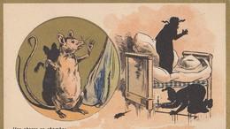 (CHROMO ET IMAGE Publicitaire) CHOCOLAT  GUERIN BOUTON Une Chasse En Chambre   (6.5x10).) - Guerin Boutron