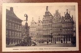 Anvers Maisons Des Corporations Et Fontaine Brabo - Antwerpen
