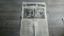 Partition Le Chansonnier Parisien Grand Succès Des Concerts Paris Chanson Jeanne D'arc - Partitions Musicales Anciennes