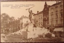 Anvers Monument Baron D'Hanis - Antwerpen