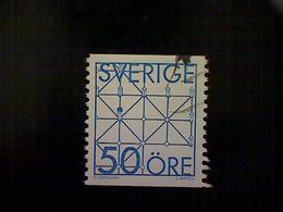 Sweden (Sverige), Scott #1434, Used (o), 1985, Games, 50ö, Bright Blue - Used Stamps