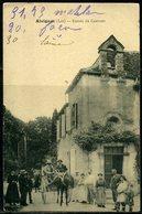Cpa  Alvignac (46) Entrée Du Couvent,  Animée - France