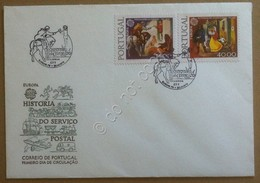 FDC Portogallo Portugal 1979 - Europa - Annullo Tematico Figurato - Francobolli