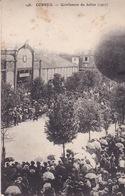 91-CORBEIL- GONFLEMENT DU BALLON (1907)-ANIMÉE - Corbeil Essonnes
