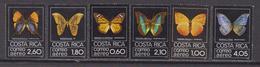 Costa Rica Aereo 1979 Air Farfalle Butterflies SG1145/50 - Costa Rica