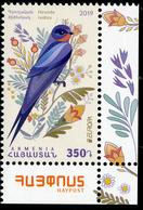 "ARMENIA/Armenien EUROPA 2019 ""National Birds"" 1v** - 2019"