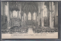 Carte Postale 62. Liévin  Intérieur De L'église  Très Beau Plan - Lievin