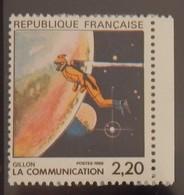FRANCE YT 2503 NEUF LA COMMUNICATION VUE PAR GILLON ANNÉE 1988 - Ungebraucht