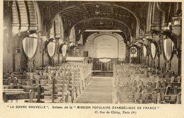75  PARIS 9e AR   RUE DE CLICHY LA BONNE NOUVELLE BATEAU DE LA MISSION POPULAIRE EVANGELIQUE DE FRANCE - Arrondissement: 09