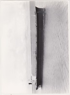 35PLC -photo Bateau MAGDALA Petrolier ?- -lot Le Cor -chantiers De L' Atlantique Navals - Saint Nazaire - Bateaux