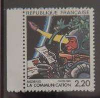 FRANCE YT 2511 NEUF LA COMMUNICATION VUE PAR MEZIERES ANNÉE 1988 - Ungebraucht