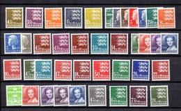 Danemark Belle Petite Collection Neufs ** MNH 1972/1988. Bonnes Valeurs. TB. A Saisir! - Denmark