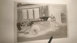 Négatif Photo Voiture Ancienne Mercedes - Automobiles