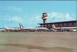 Aerei Alitalia + Canadian Pacific Ad Aeroporto Fiumicino Anni '70 - Aerodromi