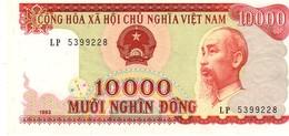 Vietnam P.115 10000 Dong 1993  Unc - Vietnam