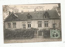 Cp, MERIEL ,  Gentilhommière Renaissance De M. Le Marquis De MONTEBELLO ,  Voyagée 1918 ,  Ed. Malcuit - Meriel