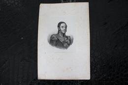DH / Louis-Gabriel Suchet, Duc D'Albufera, Né Le 2 Mars 1770 à Lyon Et Mort Le 3 Janvier 1826 à Marseille / 16x24 Cm - Documents Historiques