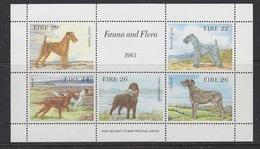 Ireland 1983 Fauna & Flora / Dogs M/s ** Mnh (42998) - Blokken & Velletjes
