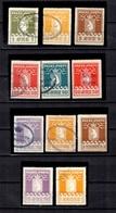 Groenland Très Bel Ensemble De Onze Timbres De Colis Postaux Oblitérés 1905/1937. B/TB. A Saisir! - Parcel Post
