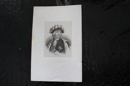 DH / Philippe D'Orléans, Couramment Appelé Le Régent, Né Le 2 Août 1674 à Saint-Cloud - Mort 1723 à Versailles /16x24 Cm - Documents Historiques