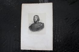 DH/Louis Lazare Hoche,né Le 24 Juin 1768 à Montreuil Près De Versailles Et Mort Le 19 Septembre 1797 à Wetzlar /16x24 Cm - Documentos Históricos