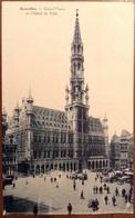 Bruxelles Grand Palce Et L'Hotel De Ville - Monumenti, Edifici