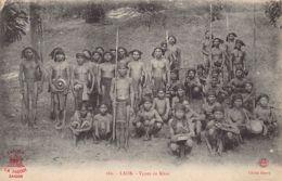 Laos - Kha Native Warriors - Publ. La Pagode 280 Phot. Henry. - Laos