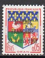 Armoiries Oran Avec Surchage Algérie Française 23 Avril 1961 Timbre Sur Le 1230a Lot 305 - France