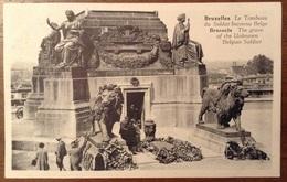 Bruxelles Le Tombeau Du Soldat Inconnu Belge - Monumenti, Edifici