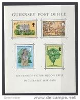 Guernsey 1975 Victor Hugo M/s ** Mnh (43001) - Guernsey