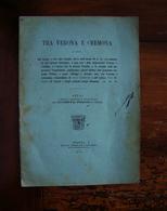 Giuseppe Fregni Tra Verona E Cremona Locus Castrum Vico Bebriaco 1919 Soliani - Non Classificati