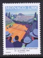 28.- MONACO 2018 Rolex Monte - Carlos Masters - Unused Stamps