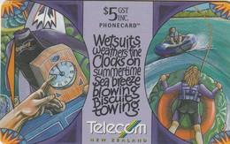 TARJETA TELEFONICA DE NUEVA ZELANDA, Wetsuits. G-177. (041) - Neuseeland