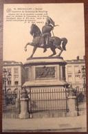 Bruxelles Statue Equestre De Godefroy De Bouillon - Monumenti, Edifici