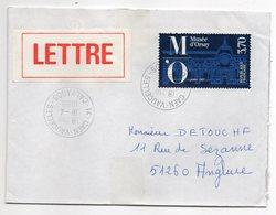 """1989--  Tp    """" Musée D'Orsay    """" - Seul  Sur Lettre ...cachet Rond  CAEN-VAUCELLES -14 - Marcophilie (Lettres)"""
