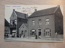 Neerpelt - Drukkerij Jacobs / Imprimerie Jacobs ET Grand Café Hôtel Restaurant - Circulée - Voir 2 Scans - Neerpelt