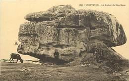 - Finistère - Ref-E246- Guilvinec - Le Rocher De Men Meur - Rochers - Megalithe - Megalithes - Carte Bon Etat - - Guilvinec